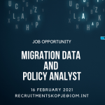 OPEN CALL – Migration Data and Policy Analyst