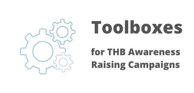 Toolboxes for THB Awareness Raising Campaigns