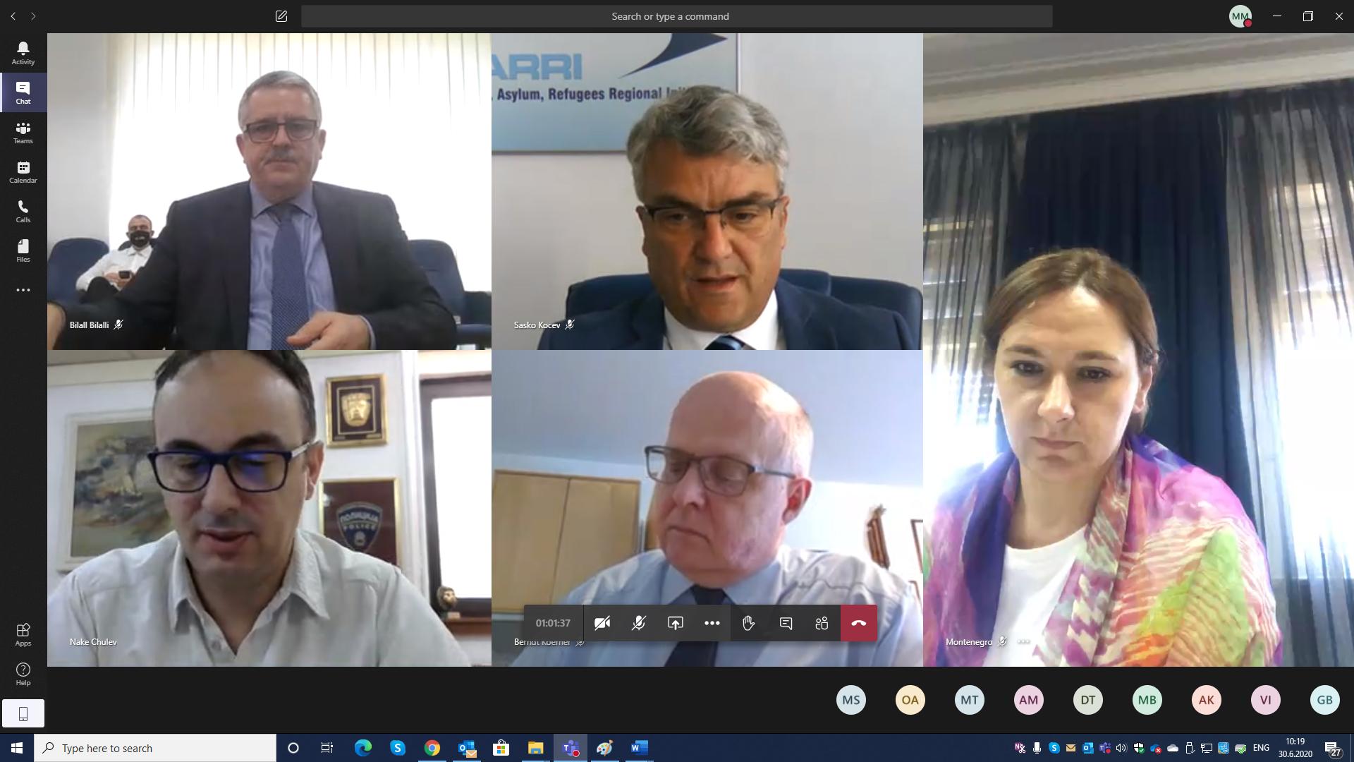 29-30 June 2020 – MARRI Committee & Regional Forum Meeting